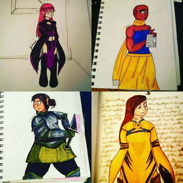Quartet of art
