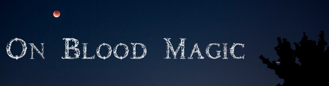 blood magic title card