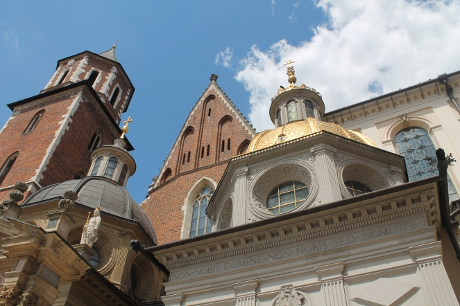 Exterior of Wawel Cathedral